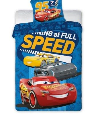 Patalynė vaikams, komplektas Cars 160x200cm