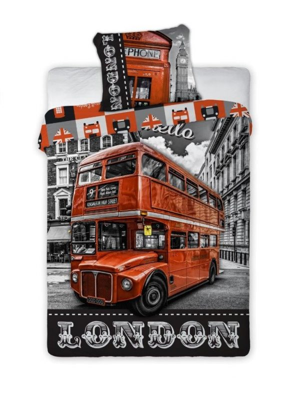 Patalynės komplektas, London 140x200cm