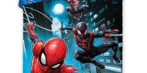 Patalynė vaikams, komplektas Spidermen 140x200
