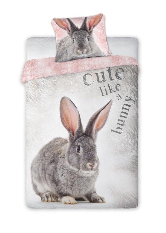 Patalynė, komplektas Bunny 140x200cm