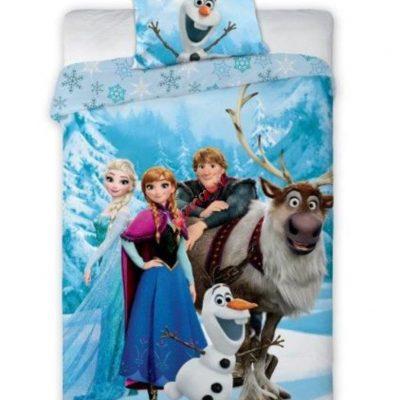 Viengulės patalynės komplektas. Frozen, Disney